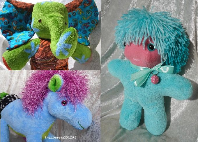 If you love turquoise and blue, happy colors and wild hair, soft toys and home decor, handmade ooak - this is for You ! http://etsy.me/2dTLPfb #handmade #dolls #horses #elephant #elephants #blue #green #homedecor #wildlife #giftfind #giftidea #turquoise #love #happy #uplift  More Soft Soft Elephants http://etsy.me/29ppLb6  Wild Hair Dolls and Horses http://etsy.me/1TuyK5P  TALLhappyCOLORS.Etsy.com