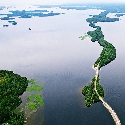 Pulkkilanharju Päijänne Finland