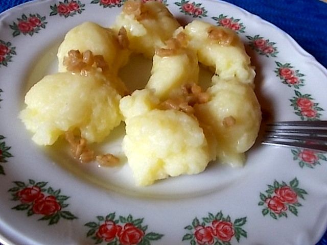Dieta Moja Pasja: Ziemniaczane kluchy zwane prażuchami.