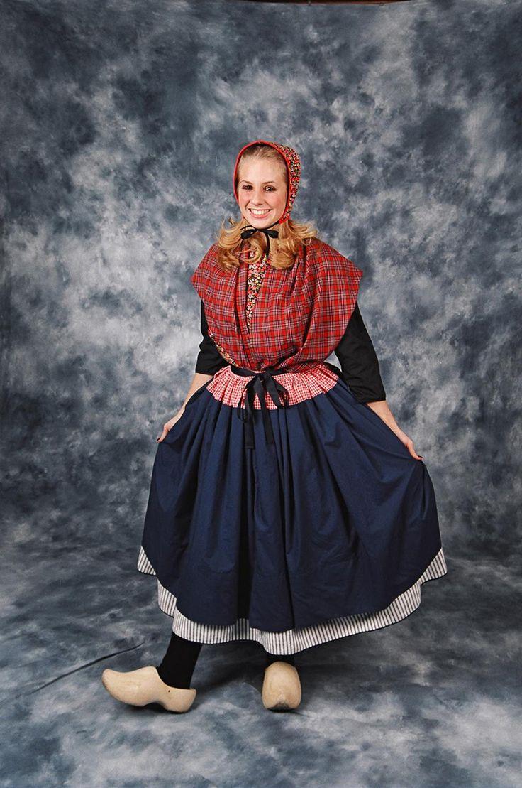 dutch dance costume staphorst provenance the beauty