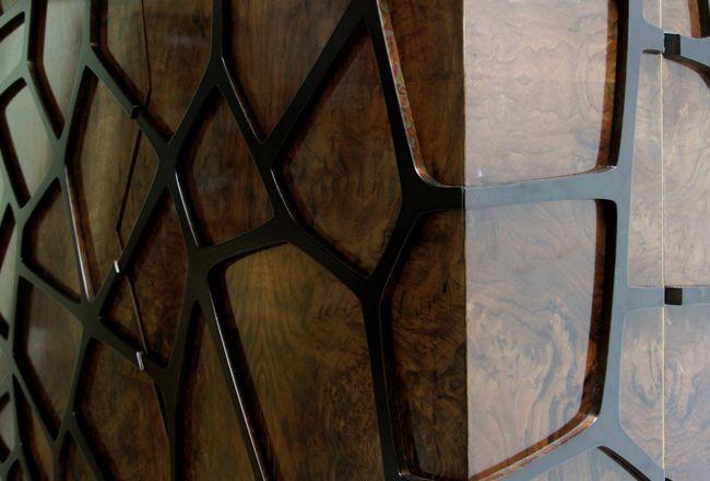 ORION   Mid Century Modern Cabinet by BRABBU