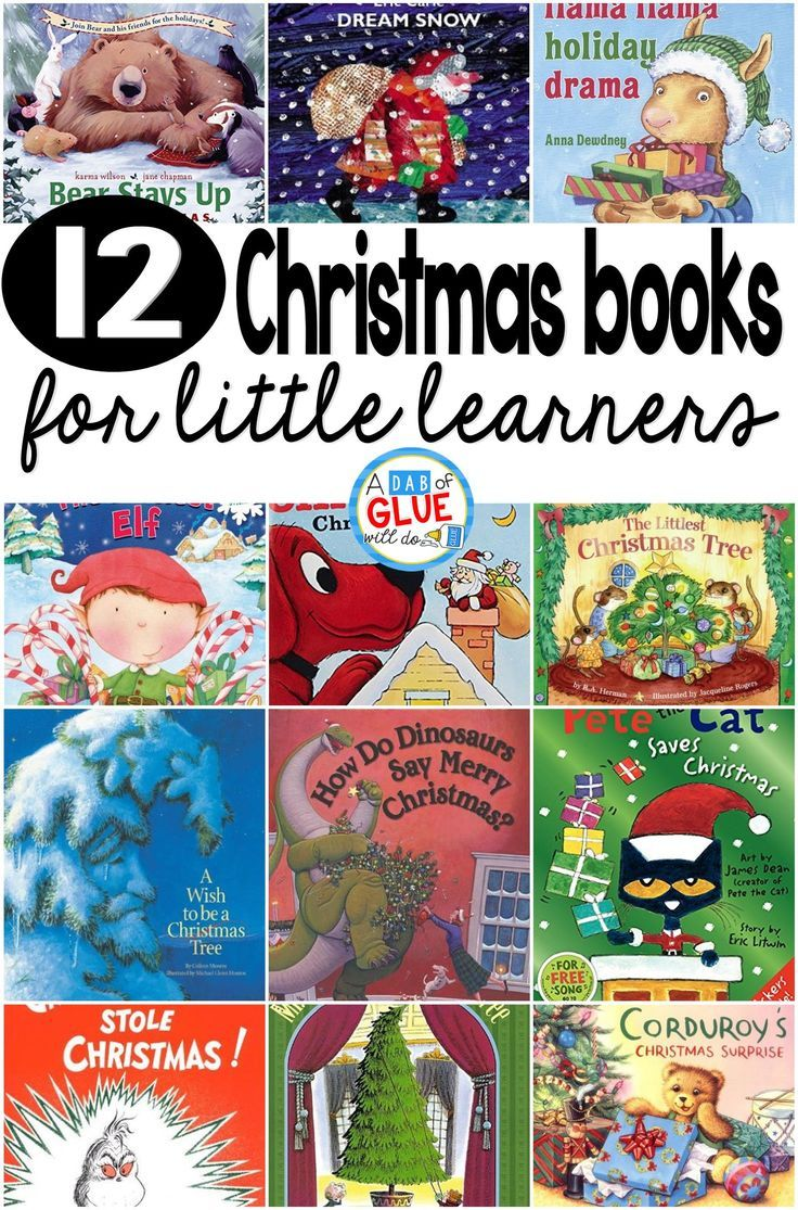 12 Childrens Christmas Books For Little Learners Kindergarten