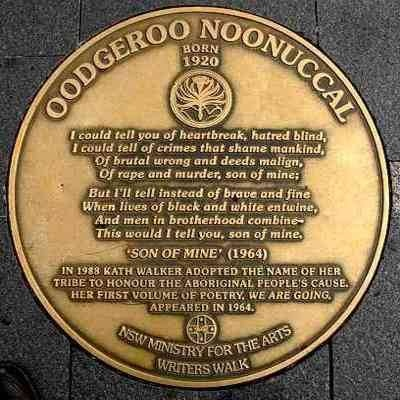 oodgeroo noonuccal we are going poem Oodgeroo noonuccal quoted in al grasby oodgeroo  we are going, published in 1964, was also the first  consider what kind of poem would be a fitting tribute.