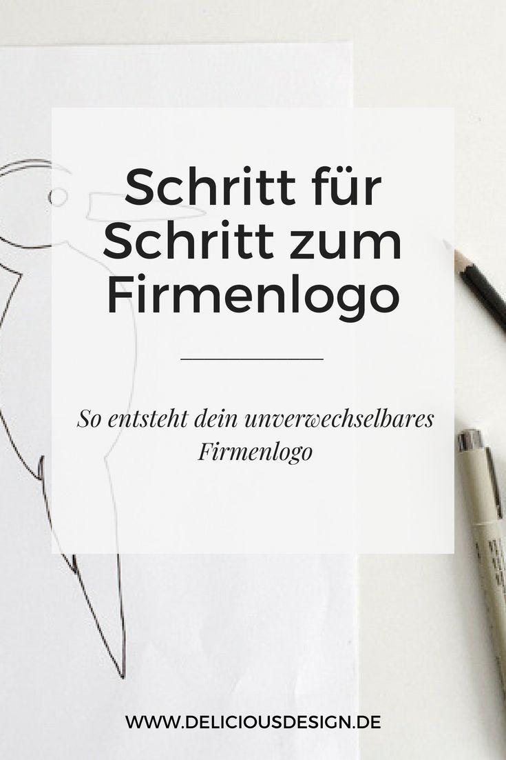 Schritt Fur Schritt Zum Firmenlogo Respekt Herr Specht
