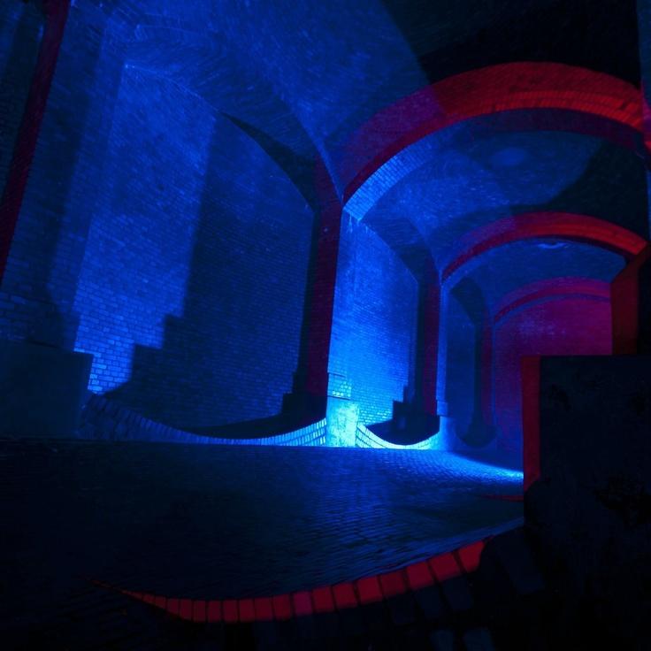 Underground Water Chamber(Sewer?) in Lodz