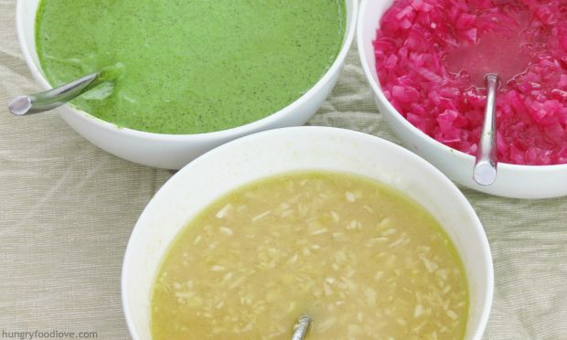 Easy Latin American Sauces: Mexican Quick Pickled Red Onions, Cuban Mojo, Argentinian Chimichurri