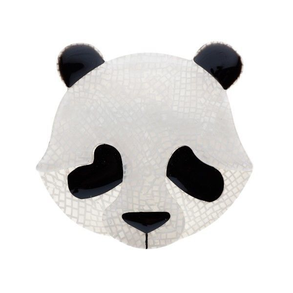 Erstwilder 'Pepita the Polite Panda' Resin Brooch GIFT! SEE MY XMAS DEALS!! in Jewellery & Watches | eBay