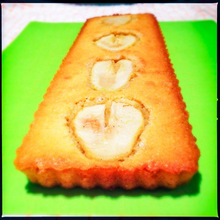 A delicious and easy pear and almond tart recipe from Donna Hay