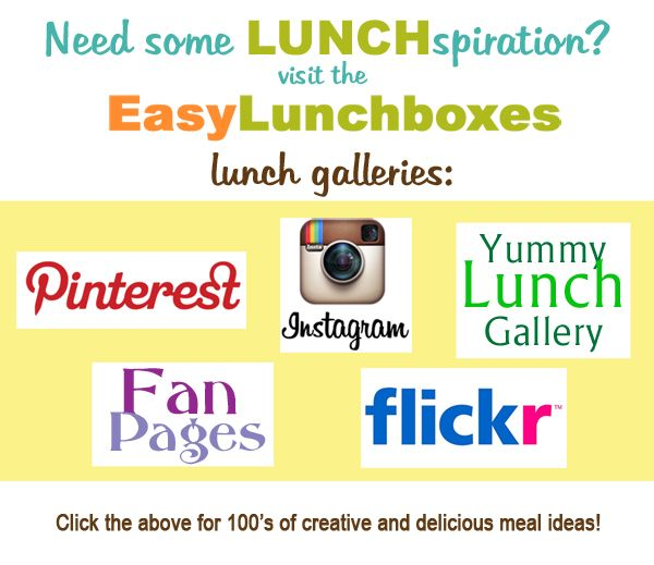 100s of packed lunch ideas for school or work