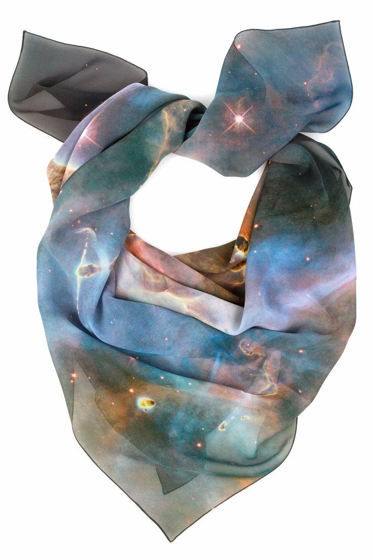 pop_30183_1space.jpg: Soft Galaxies, Mystic Scarf, Christoper Kane, Christopher Kane, Celestial Scarf, Kane Mystic, Spaces Prints, Scarves, Kane Scarf