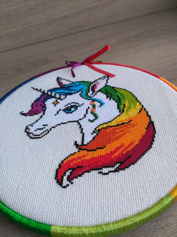 Unicorn cross stitch pattern Unicorn cross stitch Unicorn