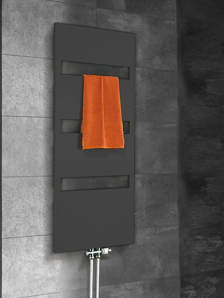 Designheizkörper »Turin« für 269,99€. Elegantes Design, Flache Ausführung, In verschiedenen Farben bei OTTO