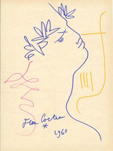 Jean-Marc Fray Antiques | Current Inspiration  ____________________________ Jean Cocteau / Orphee, Dessin