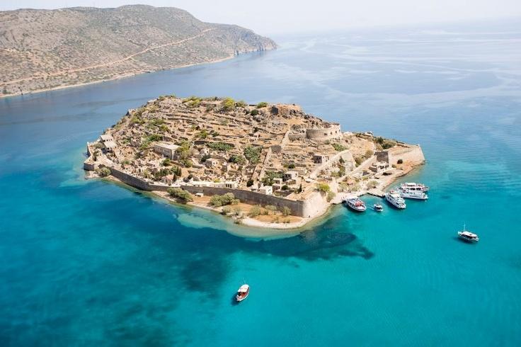Spinalonga Island-Crete