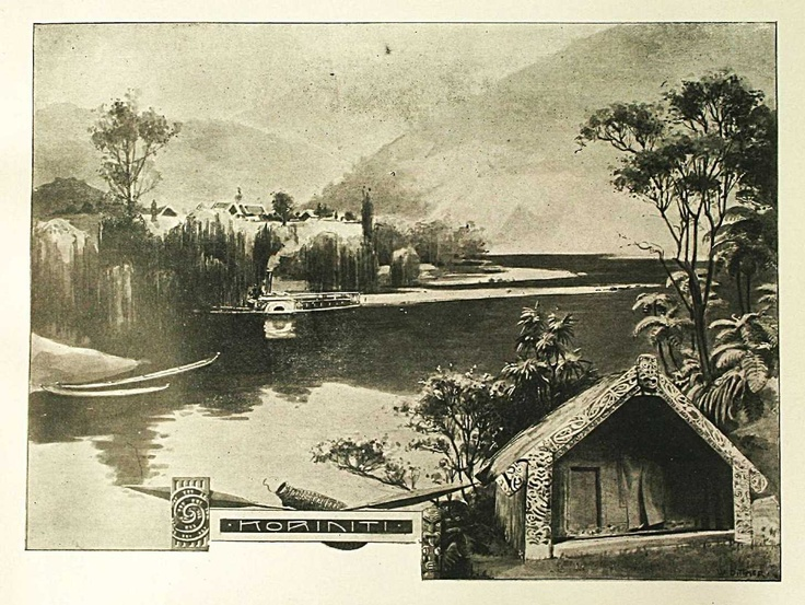 Title: Reflections: Sketches on the Wanganui River, by Wilhelm Dittmer