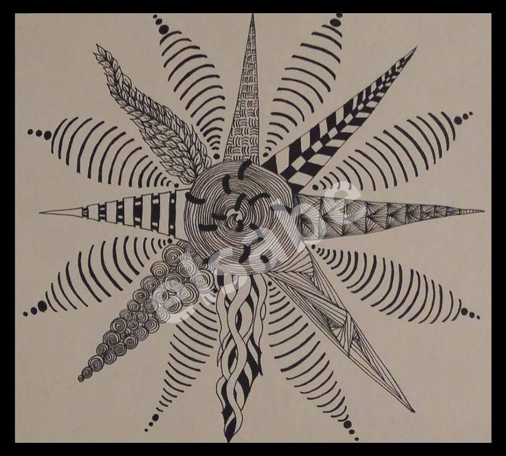 something cool zentangle art
