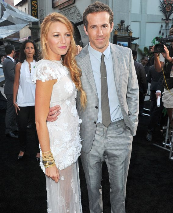 Blake Lively & Ryan Reynolds' Cutest Couple Moments - At the Green Lantern Premiere, 2011  - from InStyle.com