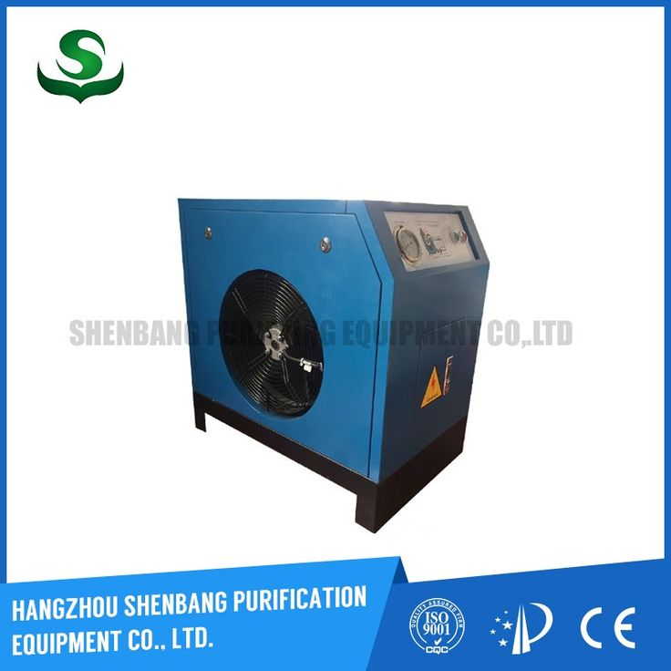 Hot selling screw air compressor tank air dryer compressed air after cooler with low price