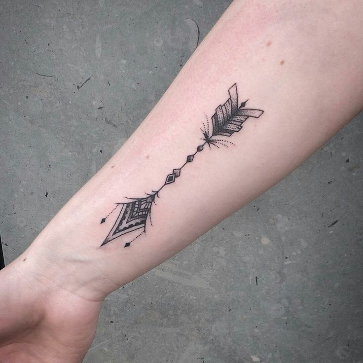 Tattoo done by: @blodilblackart #flecha #arrow #arrow #arrowtattoo