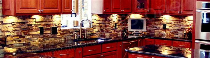 rock kitchen backsplash ideas rock panels stacked stone veneer