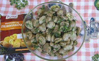 W Mojej Kuchni Lubię.. : bób z przyprawą do ziemniaków...