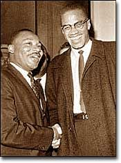 Malcolm X and the Nation of Islam.  He was gunned down by black Muslims. The goal to deceive black America into believing that Christianity is white mans religion and bring them to Islam is nothing new.