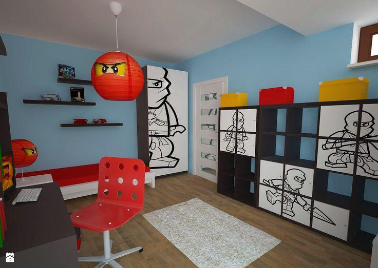 Pokój dziecięcy w stylu NINJAGO - zdjęcie od CUBE Studio Architektury - Pokój dziecka - Styl Nowoczesny - CUBE Studio Architektury