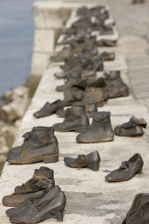 Shoes on the Danube Bank, Budapest | Holocaust Memorials Around The World - BuzzFeed News