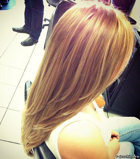 long layers / hair / стрижка лесенка на длинные волосы фото сзади