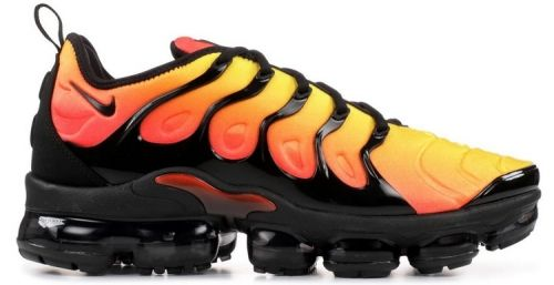 newest 9ea51 1a656 Nike Air Vapormax Plus TN Sunset 924453 006 Black Black ...