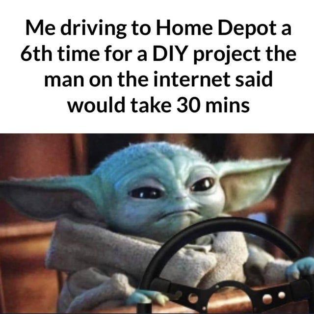 Never Fails Babyyoda Yoda Funny Yoda Meme Yoda