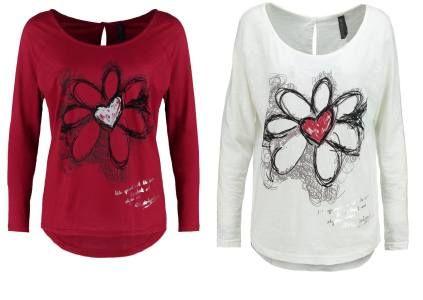 Desigual Nobol Camiseta Manga Larga Offwhite camisetas y blusas Offwhite Nobol Manga Larga desigual camiseta Noe.Moda