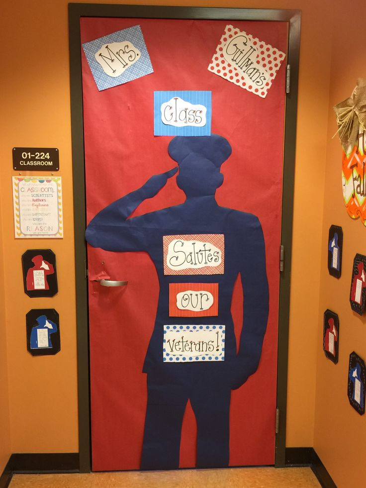 Veterans Day Classroom Door Decoration Ideas ~ Best images about veterans day on pinterest hallways
