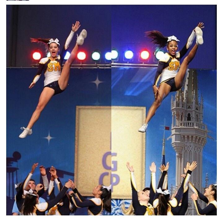 i wanna be a cheerleader