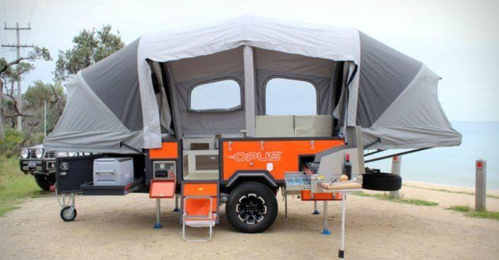 The Air Opus Pop Up Camper Inflates In 90 Seconds Flat Camper