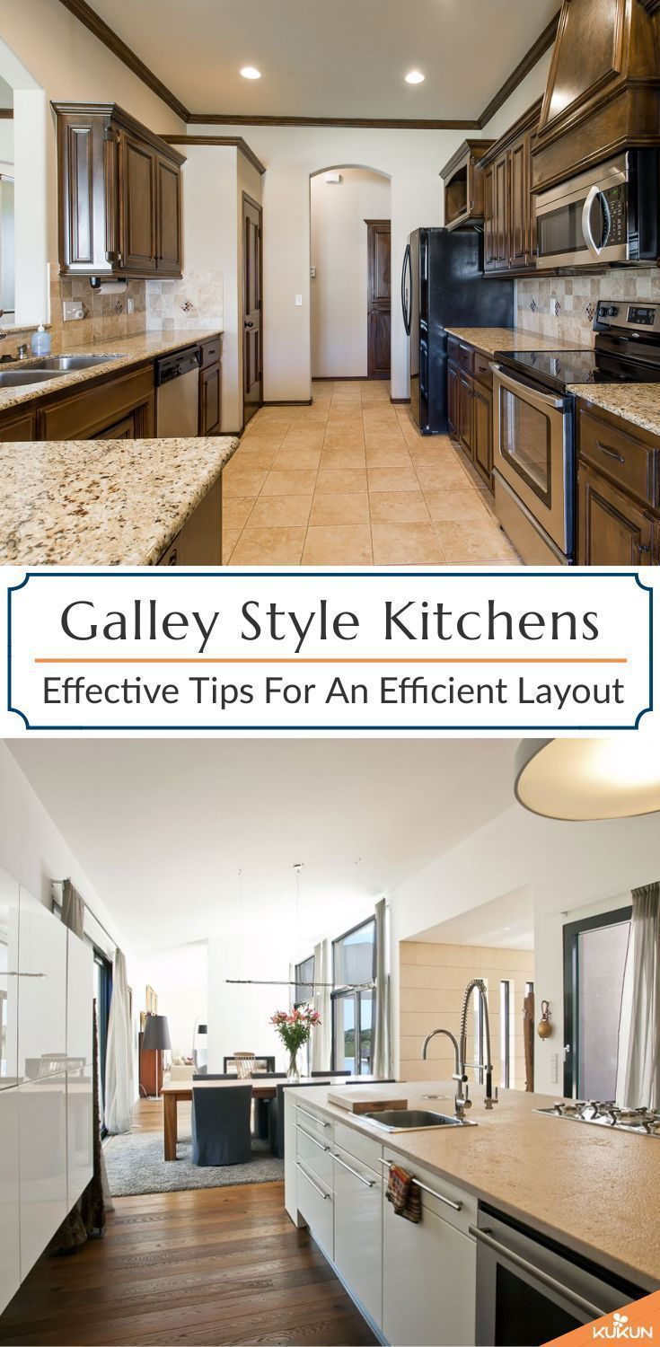 Galley Style Kitchen How To Design A Perfect Efficient Layout