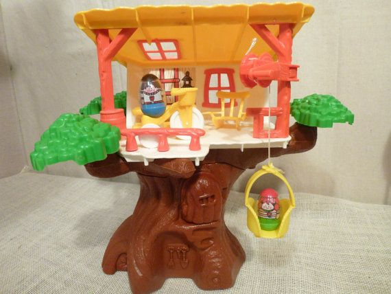 Weebles Vintage Tree House | Trees, Funny and Memories