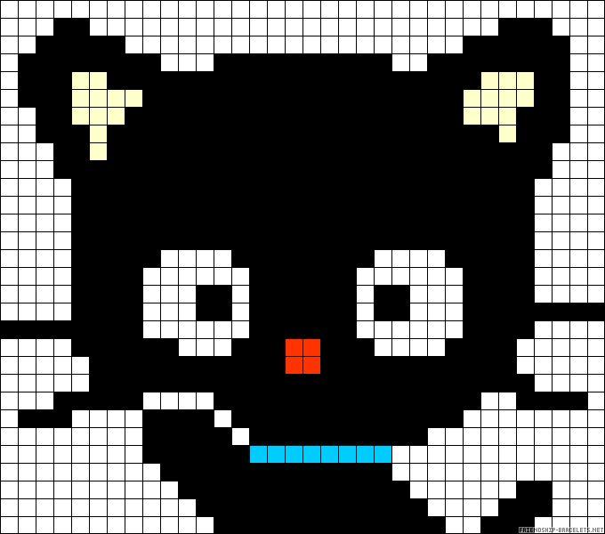 Chococat - Temptynek elkészítjük! :)   Te is szeretnéd kirakni ezt a mintát? Rendelj hozzá díszdobozos gyöngyöket! http:// on.fb.me/1cc0O7O