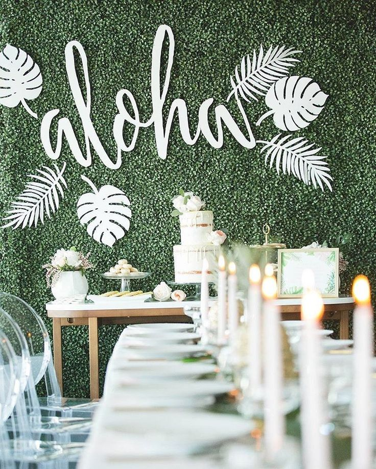 """1,942 mentions J'aime, 15 commentaires - Ruffled ✨ Weddings + Inspo (@ruffledblog) sur Instagram: """"This bridal shower celebrates in style with a Hawaiian theme 