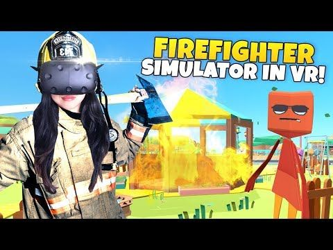 FIREFIGHTER SIMULATOR IN VR!   PaperVille Panic VR (HTC Vive Gameplay)      Support the stream: https://streamlabs.com/casandchary Live stream #15! Come hang out with us while we play the cutest firefighting simulator ever. PaperVill... https://www.youtube.com/watch?feature=youtu.be&utm_campaign=crowdfire&utm_content=crowdfire&utm_medium=social&utm_source=pinterest&v=fqET9E140FY