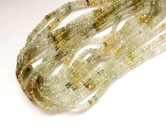 Yellow Aquamarine Beads Natural Yellow Aquamarine by gemsforjewels
