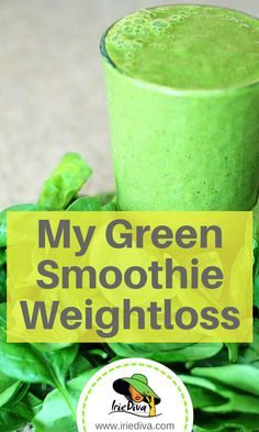 Subbing a green smoothie for breakfast helped me to take off almost 30lbs! See what else I did here