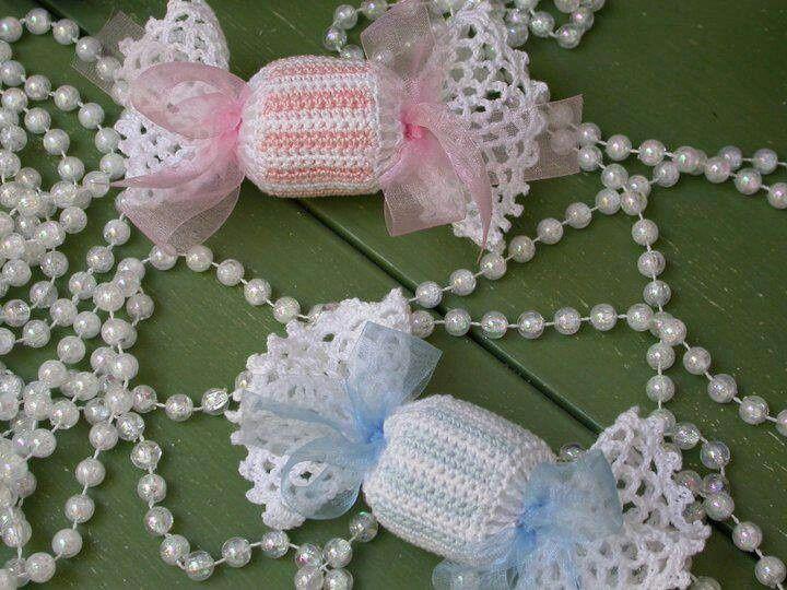 pinterest de recuerdos tejidos en crochet para bautizos - Buscar con