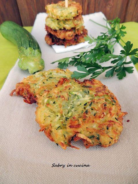 frittelle di patate e zucchine
