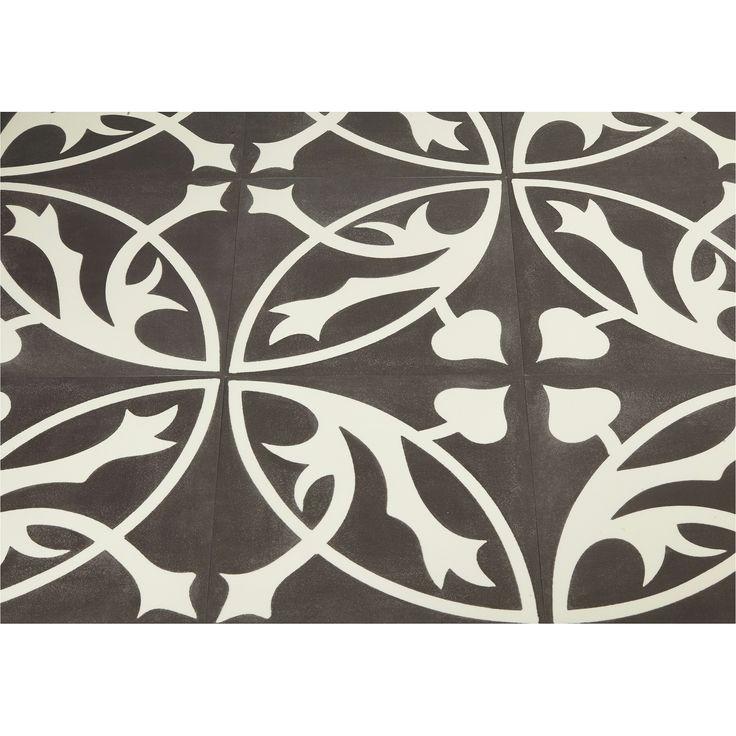 Flexxfloors Stick Premium Portugese kunststof vloertegel zwart 2,1 m²