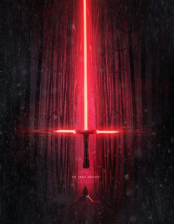 Lightsaber from Star Wars The Force Awakens by Kode Logic