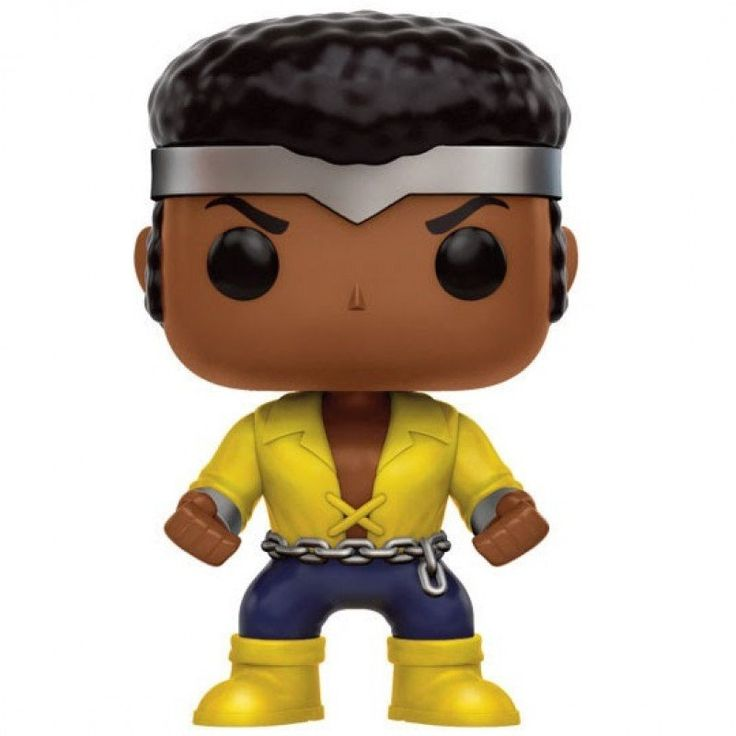 Marvel Comics' Luke Cage joins Funko's fan-favorite Pop! Vinyl Figure line! This Previews Exclusive Power Man Figure features Luke Cage wearing his classic Powe