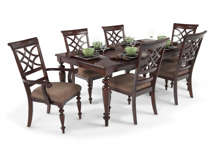 Woodmark 7 piece dining set dining room sets dining for 7 piece dining room sets cheap