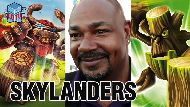 Skylanders Voice of TREE REX & STUMP SMASH Kevin Michael Richardson #skylanders #toys #collecting #voicectors