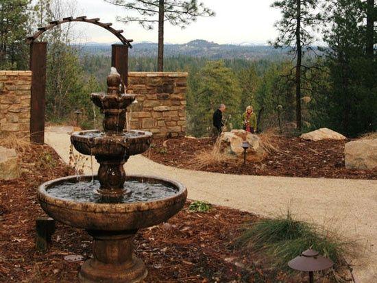 die besten 25+ mediterranean outdoor fountains ideen auf pinterest,